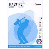 """Бумага высокой плотности Mondi 25339 (44399) А4 120гр 250 листов б/покр """"Maestro Extra"""""""