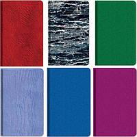 Записные книжки Бриск ЗВ-64 клетка 95х150мм 96л микс, блок в два цвета, 70г/м2