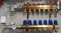 Коллектор для теплого пола GROSS в сборе на 7 контура