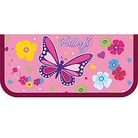 """Пенал CF17 CF32004-03 розовый """"Beauty"""", 19,8*8,5*3 см,   пластик, 1 отделение не молнии"""