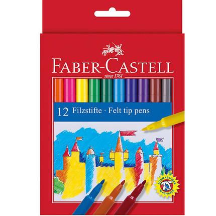 "Фломастеры Faber_Castell 554212 12цветов блистер ""Fibre-tip"", фото 2"