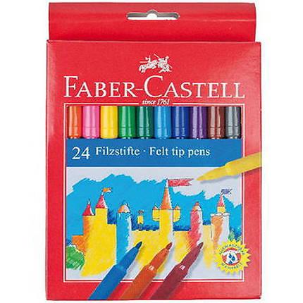 "Фломастеры Faber_Castell 554224 24цвета блистер ""Fibre-tip"", фото 2"