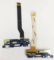 Шлейф с разъемом зарядки и микрофоном для Asus ZenFone 3 Max (ZC520TL) Original