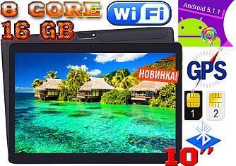 Супер планшет телефон Asus ZenPad 10, 8 core,10'', 1Gb/16 Gb, GPS, 2 sim