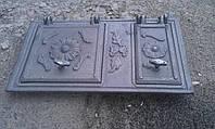 Дверца печная Цветок 2