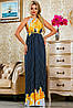 Красивое платье женское длинное в 3х цветах SV2239-38-37