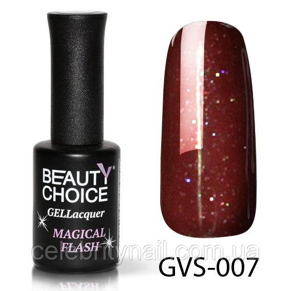 Гель-лак Beauty Choice «Magical flash» GVS-007, 10 мл