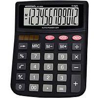 Калькуляторы бухгалтерские Assistant АС-2332 черный 12 разряд, 143х100х25, пласт корп, пласт кн