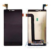 Дисплей (экран) для телефона Xiaomi Redmi Note 3, Redmi Note 3 Pro + Touchscreen Black