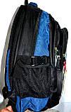 Школьный рюкзак Edison 29*45 (голубой), фото 2