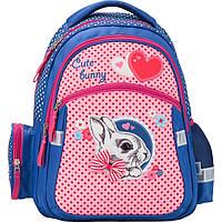 Рюкзак Kite17 K17-522S школьный 522 Cute Bunny