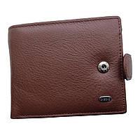 Мужской кошелек Dr. Bond из натуральной кожи. Черный и коричневый цвет.