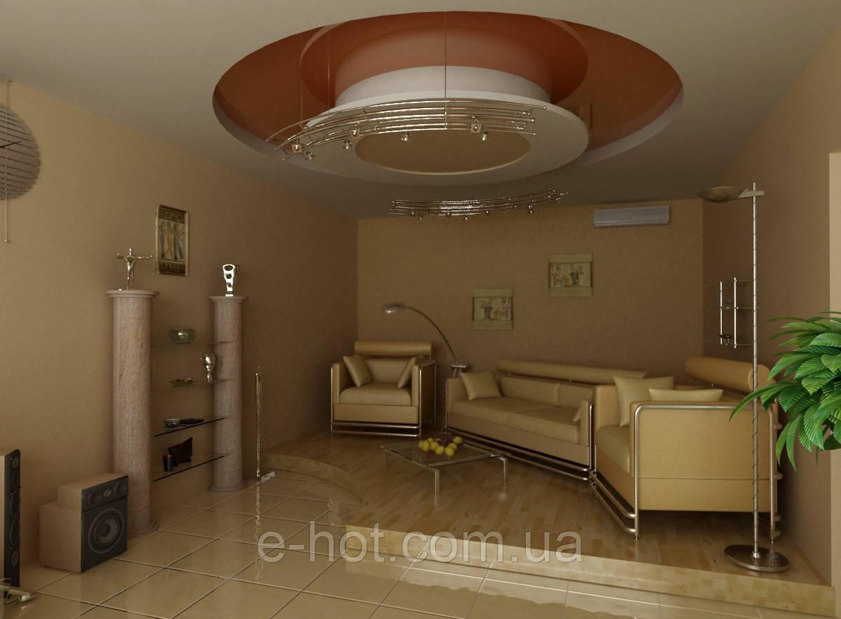 Дизайн проект гостиной, Гостиная 19