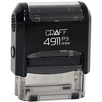 """Оснастка для печатей и штампов Graff 4911-03 синий Оснастка 38х14мм """"Виконано"""" укр."""