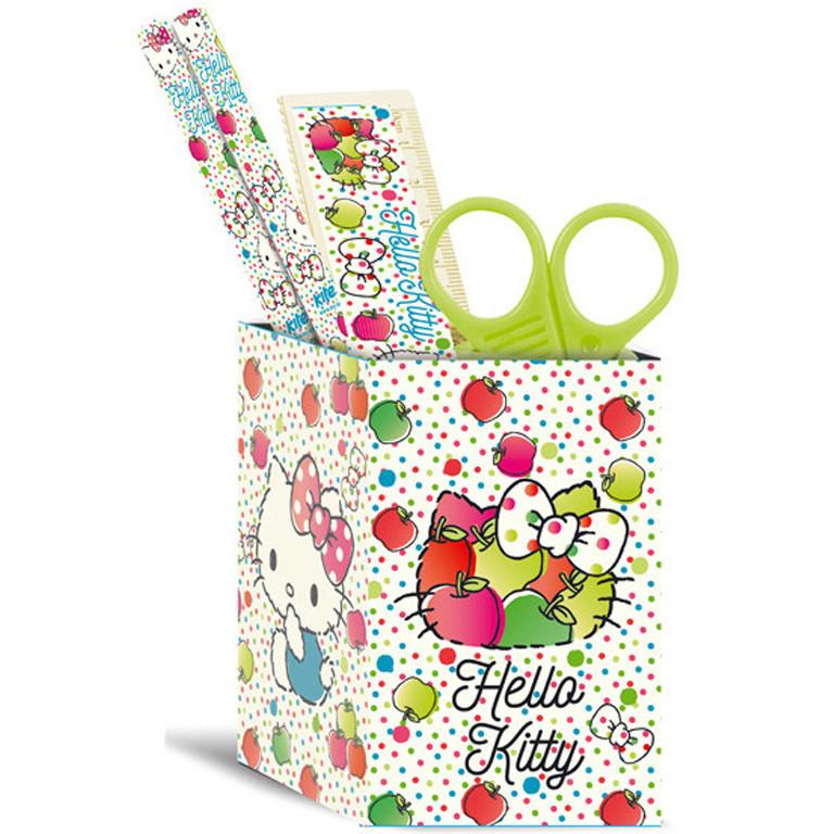 """Настольный набор Kite HK17-214 квадратный """"Hello Kitty"""""""