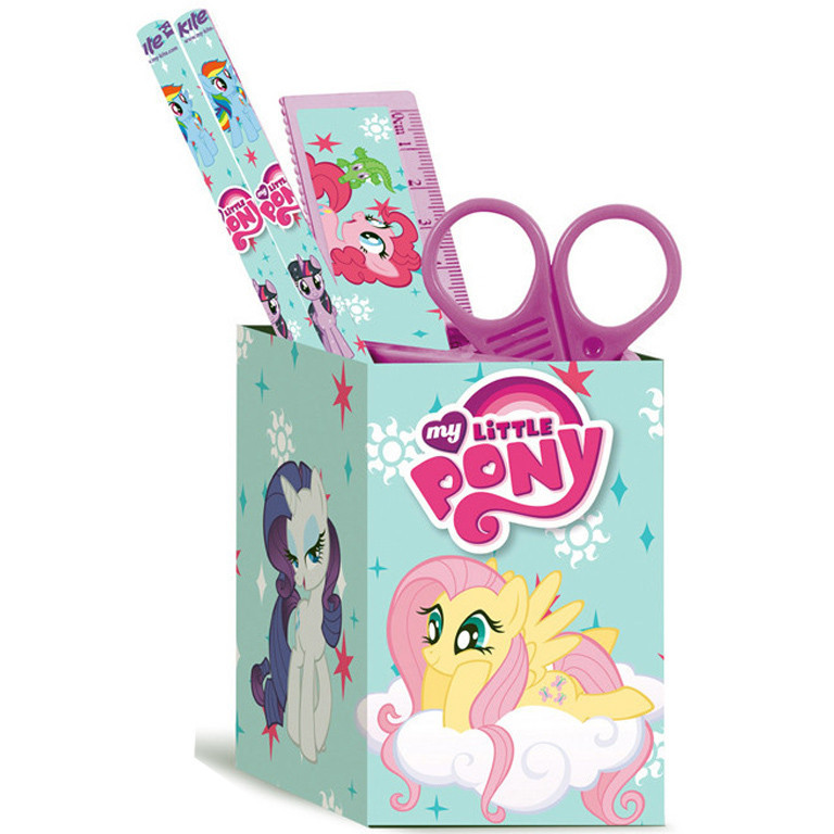 """Настольный набор Kite LP17-214 квадратный """"My Little Pony"""""""