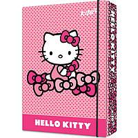 "Папка для тетрадей Kite HK17-210 B5 картон на резинке ""Hello Kitty"""