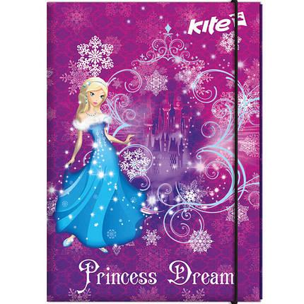 Папка для труда Kite K17-213-01 A4 картон на резинке Kite                                                                                             , фото 2