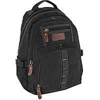 Рюкзак Cabinet17 O97385 черный анатомическая спинка, эргономичные лямки, боковые карманы, Laptop-карман
