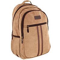 Рюкзак Cabinet17 O97395 бежевый анатомическая спинка, эргономичные лямки, боковые карманы, Laptop-карман