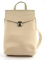 Прочный стильный оригинальный женский рюкзачок сумка с очень качественной эко кожиart. бежеваяУкраина