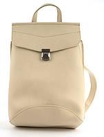 cd110df1dd3c Прочный стильный оригинальный женский рюкзачок сумка с очень качественной  эко кожи art. бежевая Украина