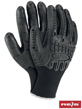 Перчатки защитные, проклеенные RAPTOR BB, фото 2
