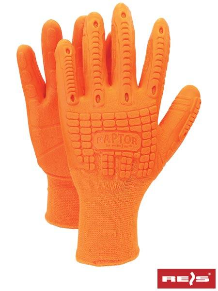 Перчатки защитные, проклеенные RAPTOR PP