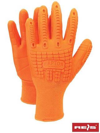Перчатки защитные, проклеенные RAPTOR PP, фото 2