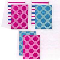 Блокноты в мягких обложках Школярик A6-2х040-557 клетка/линия А6 40л по2шт верх/склейка тисн.фольга