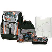 """Ранец Schneiders 78302-075 """"Rallye Extreme"""" рюкзак+сумка для обуви+пенал под наполнение+пенал"""