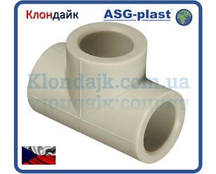 Полипропилен тройник равный Ø50 ASG-Plast (Чехия)