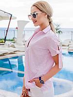 Летняя блуза прямого покроя. М ( 44-46)