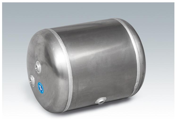 Автомобильный воздушный ресивер, объем 20 литров (220*594 мм)