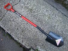 Лопата длинная BTD B102 закаленная сталь, фото 2
