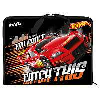 Портфель Kite Hot Wheels А4 HW17-202