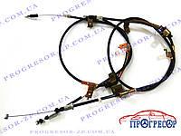 Тросы ручного тормоза (левый + правый) Chery Eastar / B11-3508090, B11-3508100
