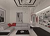 Дизайн проект гостиной, Гостиная 33, фото 2