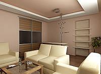 Дизайн проект гостиной, Гостиная 35