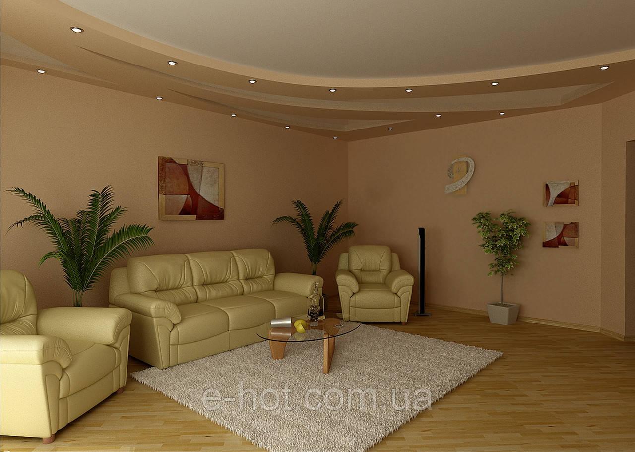 Дизайн проект, Гостиная 41