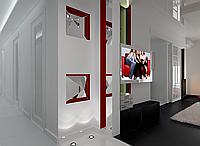 Дизайн проект, Гостиная 43