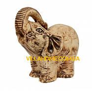 """Декоративная скульптура для улицы """"Слона"""" из глины. Высота 540 мм"""