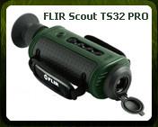Тепловизионный монокуляр FLIR SCOUT TS32 PRO (< 450 МЕТРОВ)