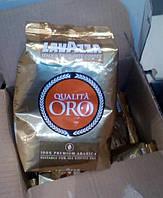 Кофе Lavazza Qualita Oro в зернах 1кг Лаватса Квалита Оро Италия 100% арабика