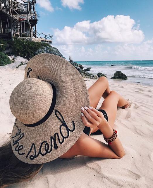 Модные женские летние и пляжные шляпы 2017. Статьи компании «ON store» 5daa68703ed