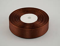 Лента атлас 2 см, 33 м, № 31 светло коричневая