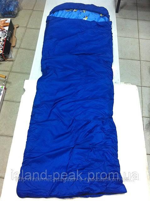 Спальный мешок (одеяло с капюшоном 250) весна-осень