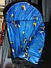 Спальный мешок (одеяло с капюшоном 250) весна-осень, фото 2
