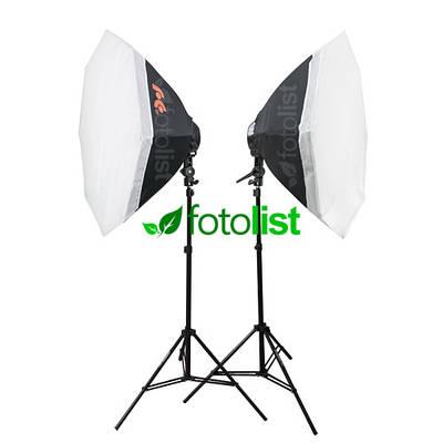 Набор постоянного диодного света Falcon LED-B628FS(OB8)-2 KIT Ø80 см, 12х12w, 1680 Вт, 5500К