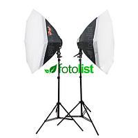 Набор постоянного диодного света Falcon LED-B928FS(OB8)-2 KIT Ø80 см, 18х12w, 2520 Вт, 5500К